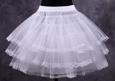 Wholesale Cheap White Short Ball Gown Petticoat Dresses