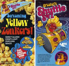 Screaming Yellow Zonkers box