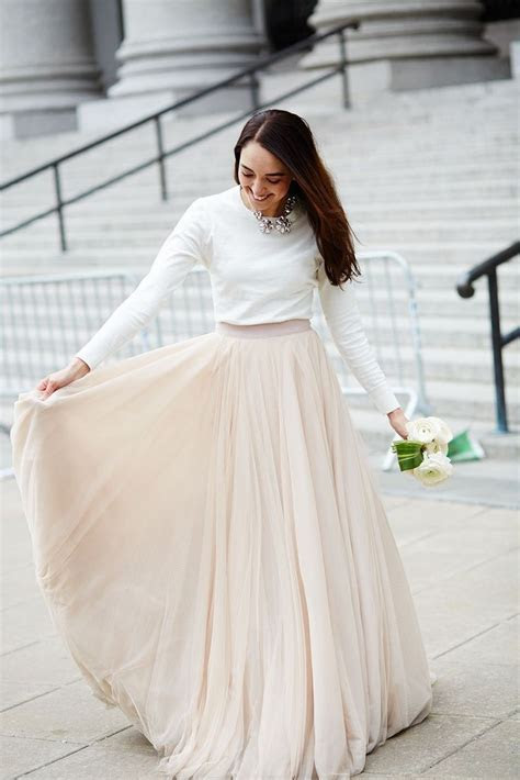 10 Of The Best Wedding Dress Skirts & Tops   Rustic