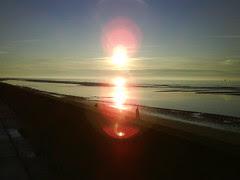 Sun! In Blackpool!