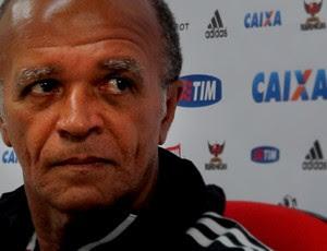 Jayme de Almeida, técnico do Flamengo (Foto: Richard Souza)