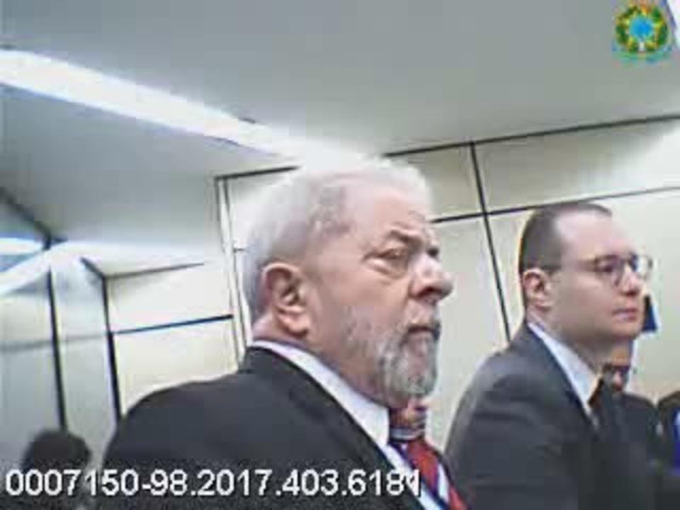 Depoimento de Lula em São Paulo sobre a ação penal contra Gleisi Hoffmann