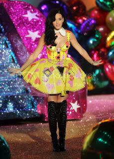 Katy Perry at 2010 Victoria's Secret Fashion Show