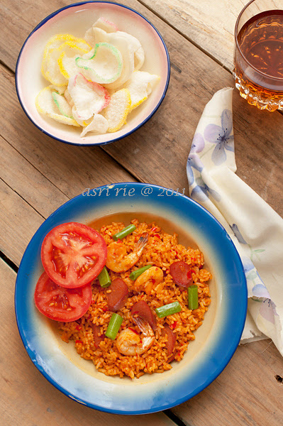 nasi goreng/ fried rice