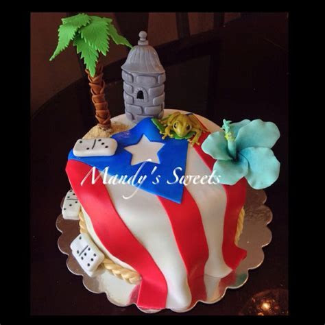 Puerto Rico Food Cake Ideas and Designs