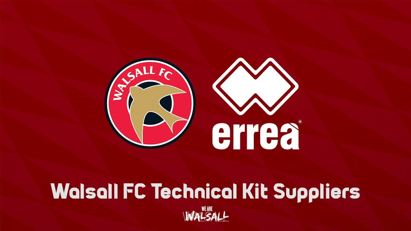 Walsall's New Third Kit Has Been Unveiled