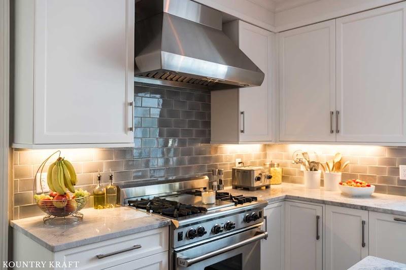 Cool Farmhouse Yellow Kitchen Cabinets wallpaper