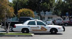 San Bernadino County Sheriff Patrol Car