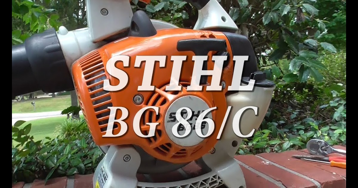27 Stihl Bg 86 Blower Parts Diagram