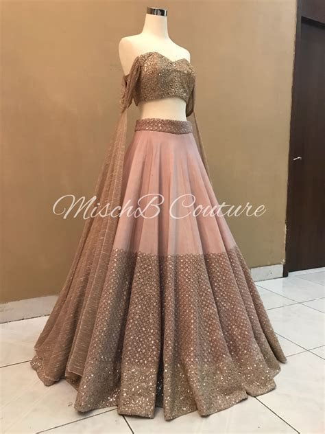 Pretty Perfect lehenga by mischb couture   style in 2019