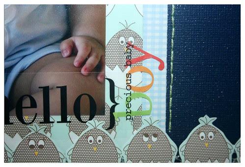 {hello} precious baby boy closeup