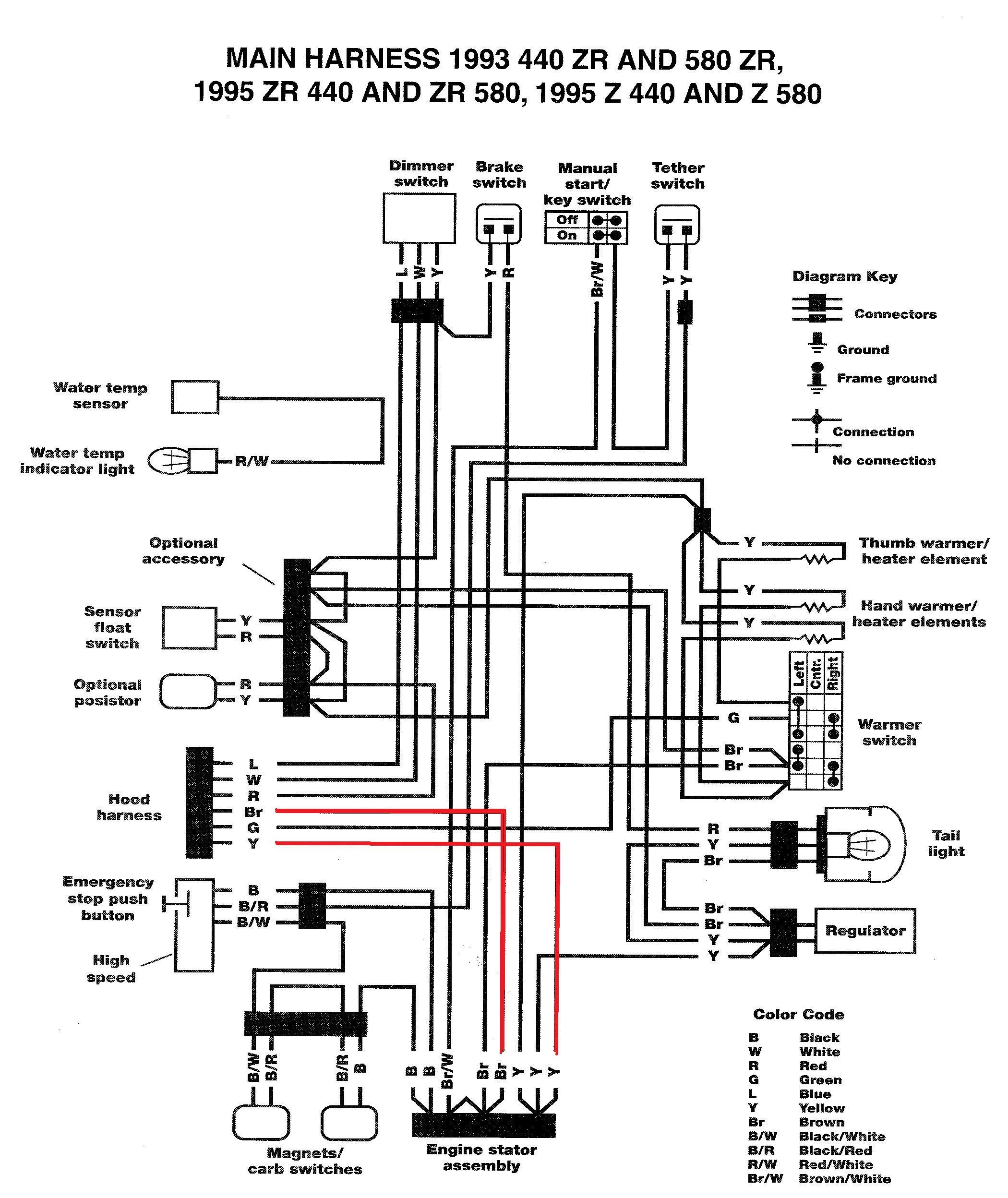 93 Yamaha Banshee Wiring Diagram