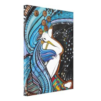 Guardian Angel - Sentinel Stretched Canvas Print
