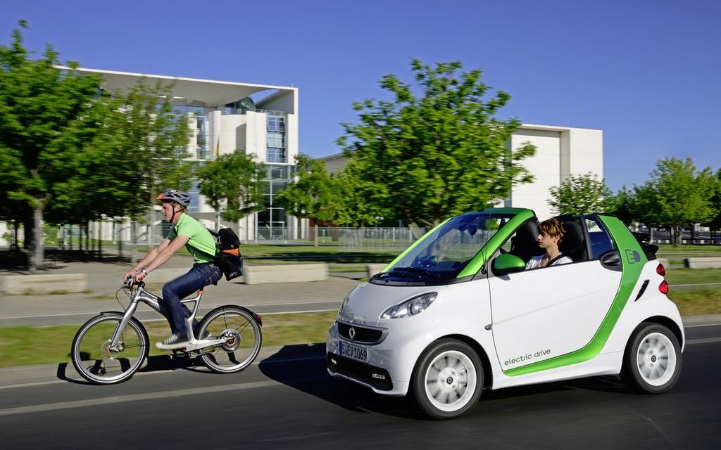 ... fortwo electric drive: la voiture électrique la moins chère au pays