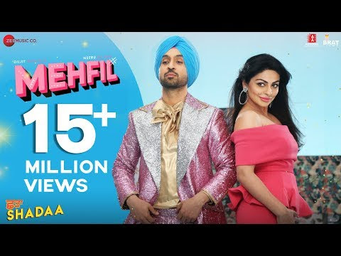 Mehfil  Lyrics - SHADAA | Diljit Dosanjh