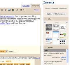 Blog better using Zemanta