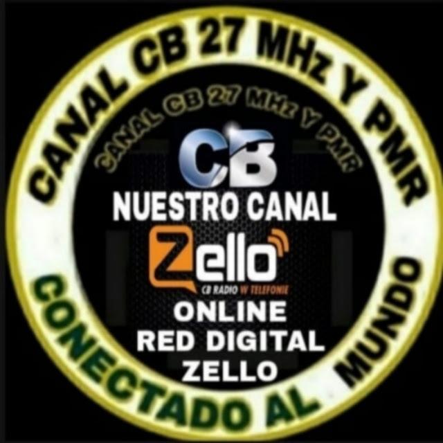 Canal de 27 CB 11 Metros y PRM en Zello