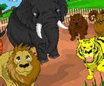 hayvanat bahcesi boyama oyunu boyama oyunlari