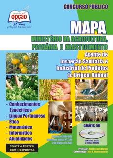 MAPA-AGENTE DE INSPEÇÃO