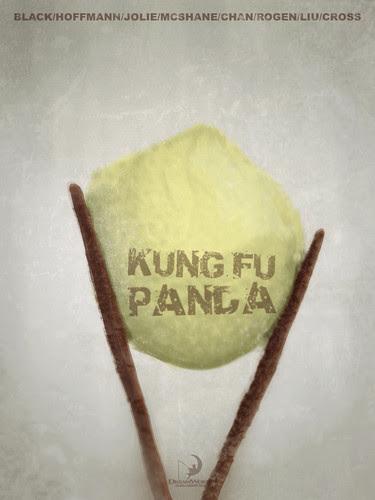 Kung Fu Panda - Minimalist Poster