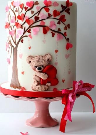 افكار لكعكات عيد الحب (3)