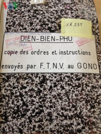 Điện Biên Phủ, Thực dân Pháp, tài liệu mật