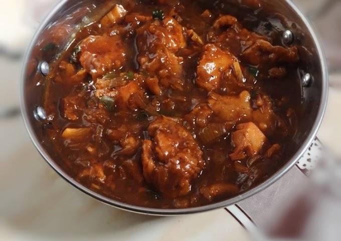 Recipe of Award-winning Yogurt Red Chicken masala Gravy