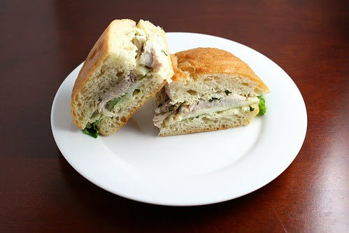 Grilled Pork and Fontina Sandwiches