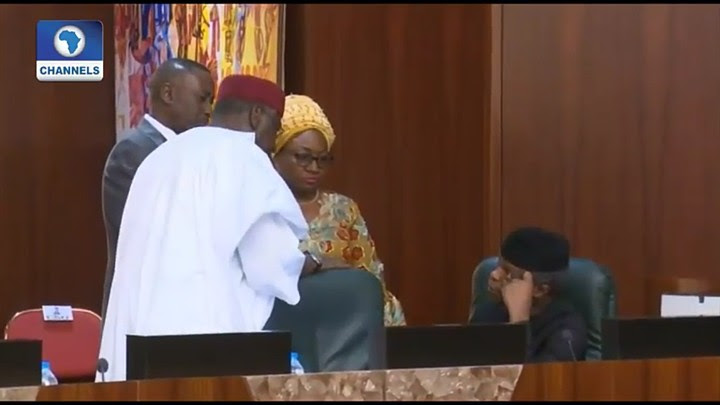 Head Of Service & Buhari's Chief Of Staff In Heated Argument (Photos, Video)