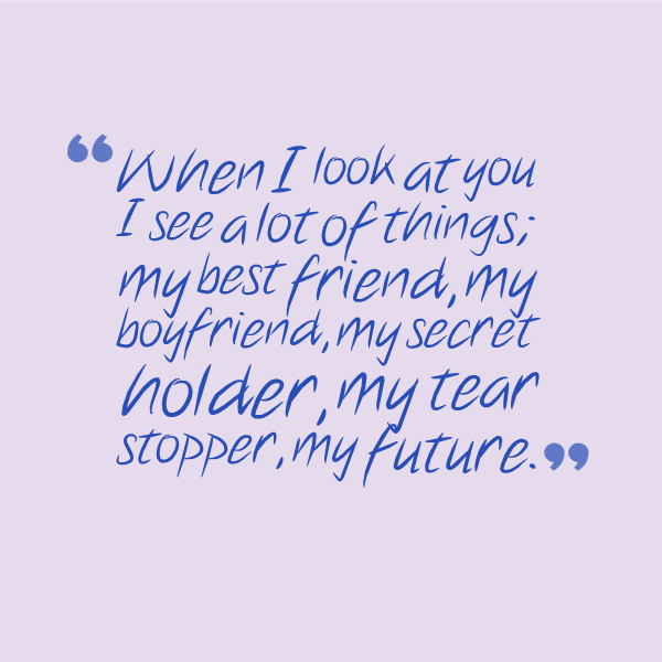 Quotes About Boyfriend And Love 61 Quotes