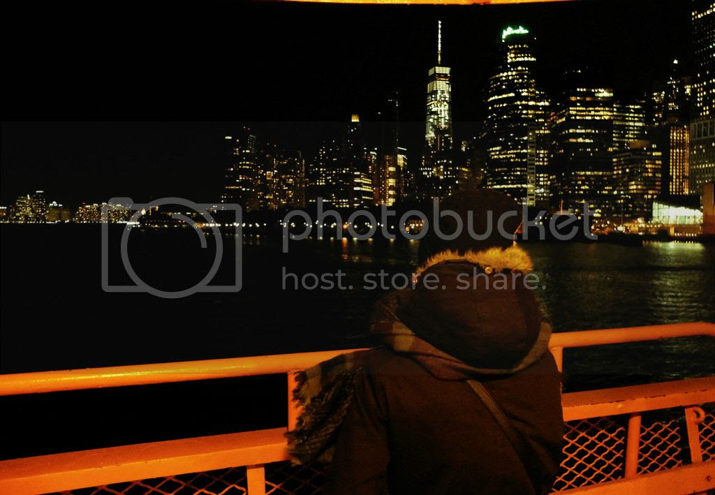 modestmixblog New York City Staten Island ferry
