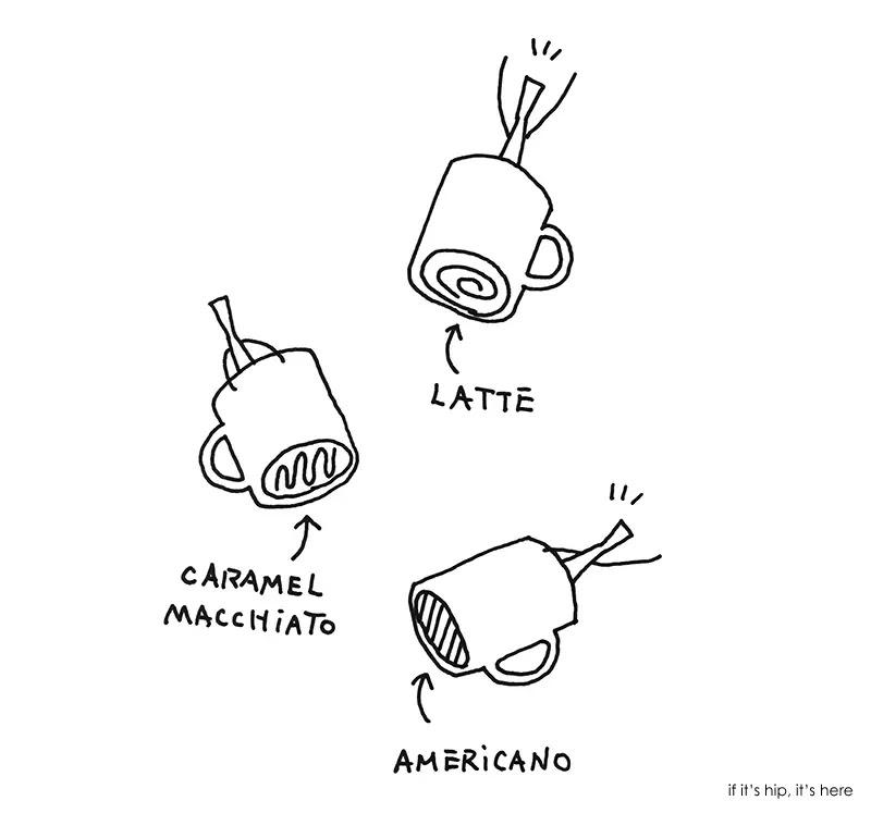 starbucks mugs nendo 4 IIHIH