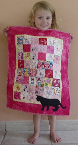 Ela and the Doll Quilt