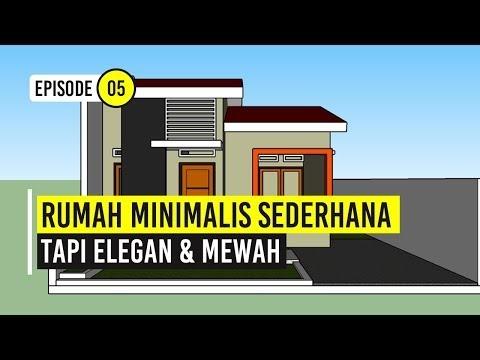 terupdate model rumah minimalis sederhana di kampung, viral!