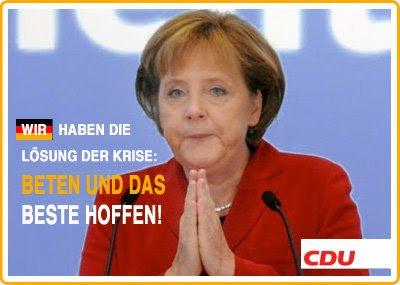 CDU - Wir haben sicher keine Lösung