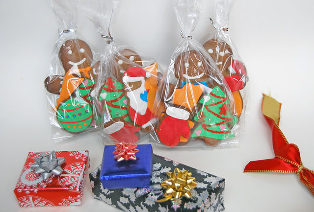 Gingerbread cookies gifts