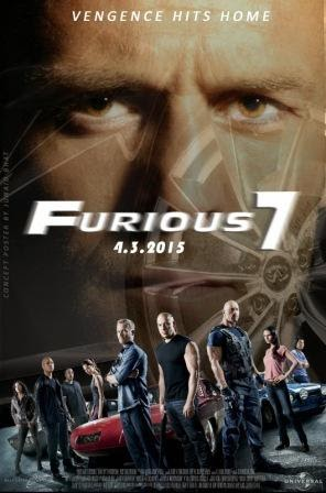 Download Fast & Furious 7 (2015) 400MB