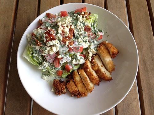chicken BLT salad2