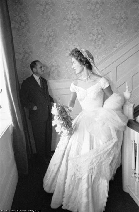 The happy couple: JFK and Jacqueline Kennedy's wedding, 60