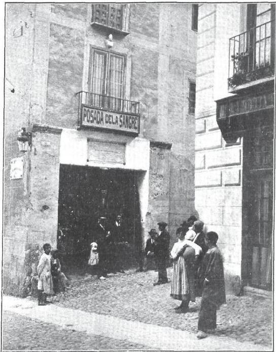 Posada de la Sangre en 1913. Foto de A. Maján