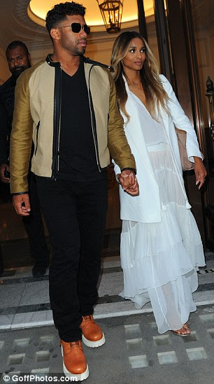Worth the wait: Mother-of-one Ciara previously confessed that abstaining from sex with Russell was 'not easy'