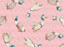 Beatrix Potter Jemima Puddleduck fabric