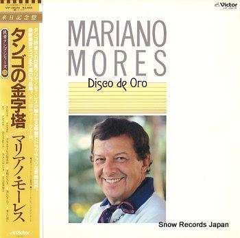 MORES, MARIANO disco de oro