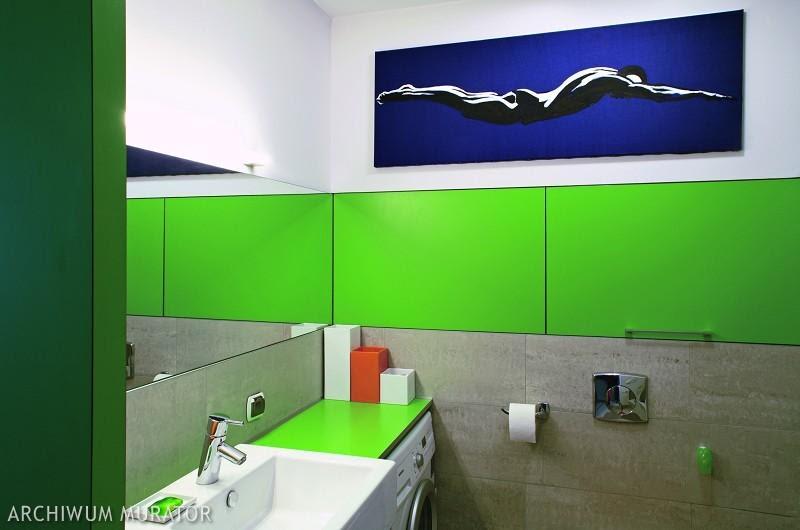 Galeria zdjęć - Zielona łazienka pachnąca lasem. Aranżacje ...