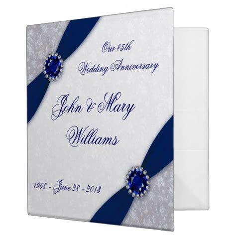 45th Wedding Anniversary   Party Invitations Ideas