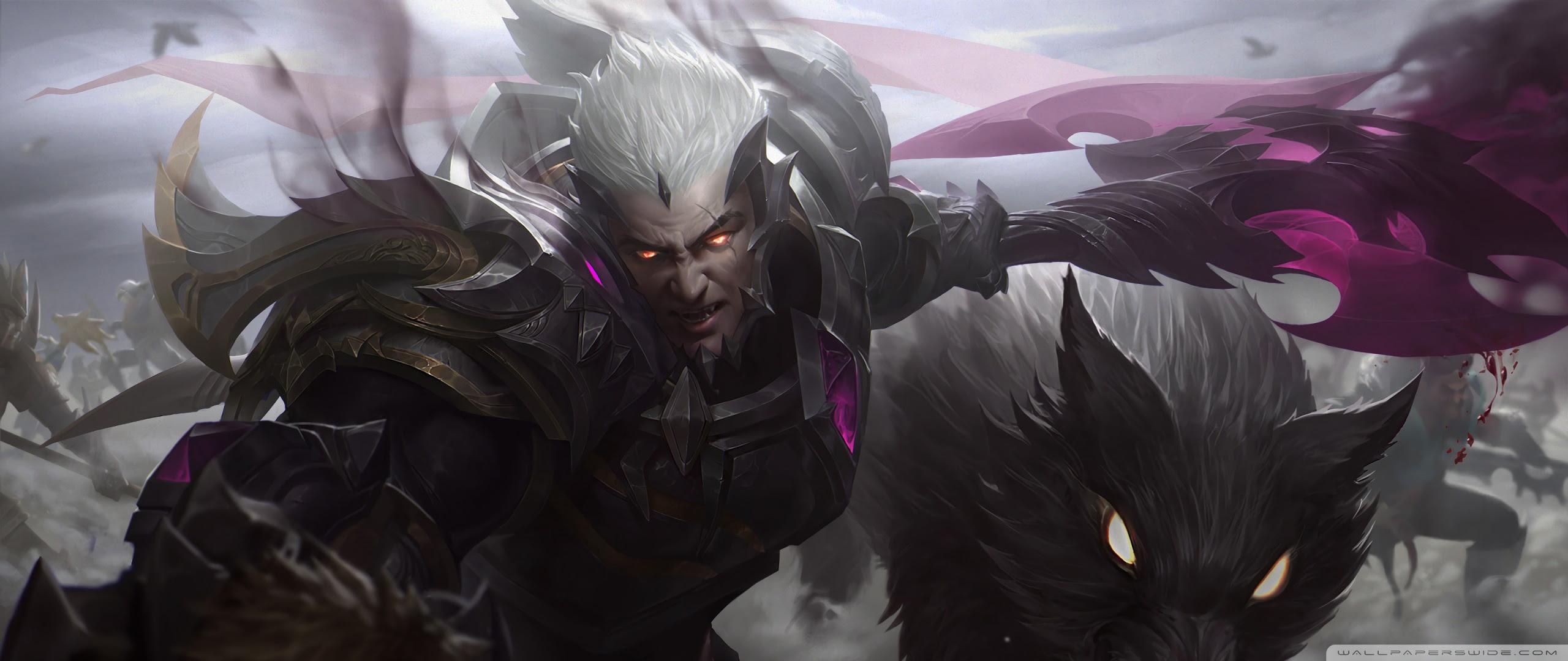 God King Darius League Of Legends Lol Uhd Desktop Wallpaper