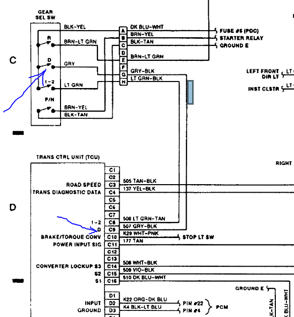 Aw4 Tcm Wiring Diagram - Wiring Diagram Schema