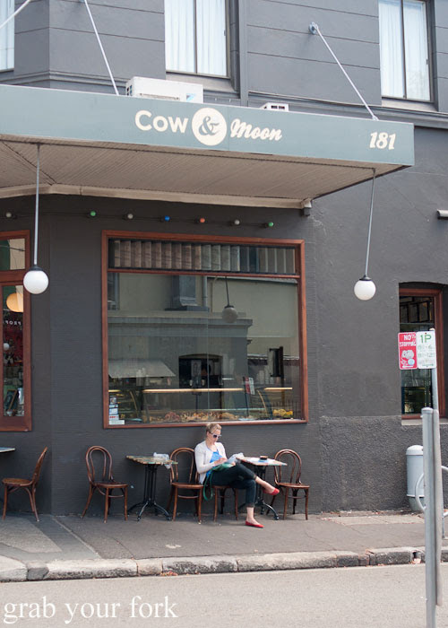 Cow and Moon Gelato store in Enmore
