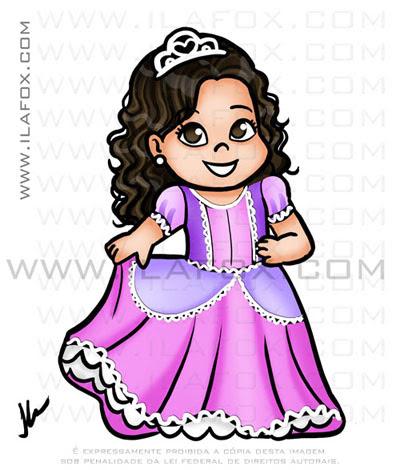 caricaturas fofinhas, caricaturas infantis, princesa, caricaturas personalizadas, by ila fox
