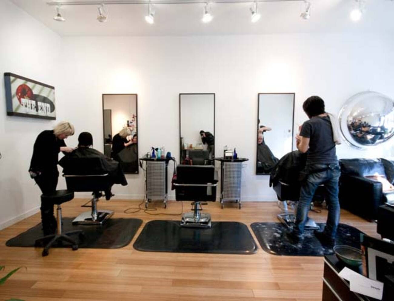Upscale hair salon opens near College and Dufferin